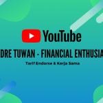 tarif endorse dan kerjasama youtube andre tuwan