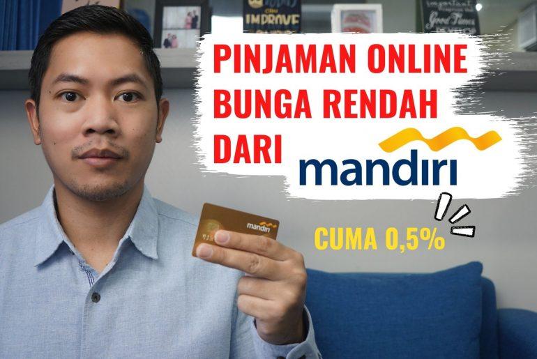 pinjaman online bunga rendah bank mandiri