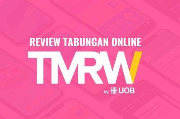 review tmrw rekening tabungan online tmrw by UOB
