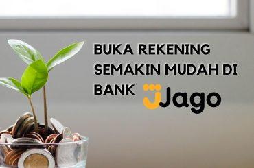 review bank jago - buka rekening online langsung aktif